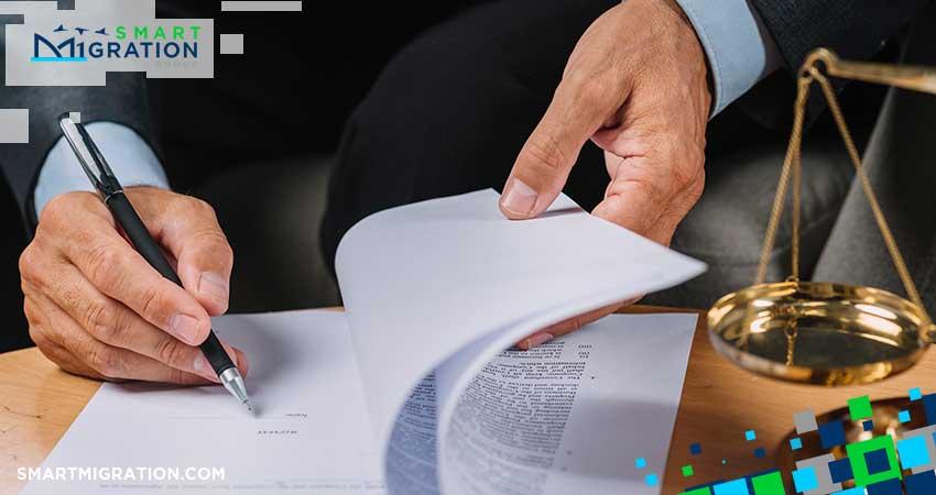 قرارداد وکیل مهاجرت