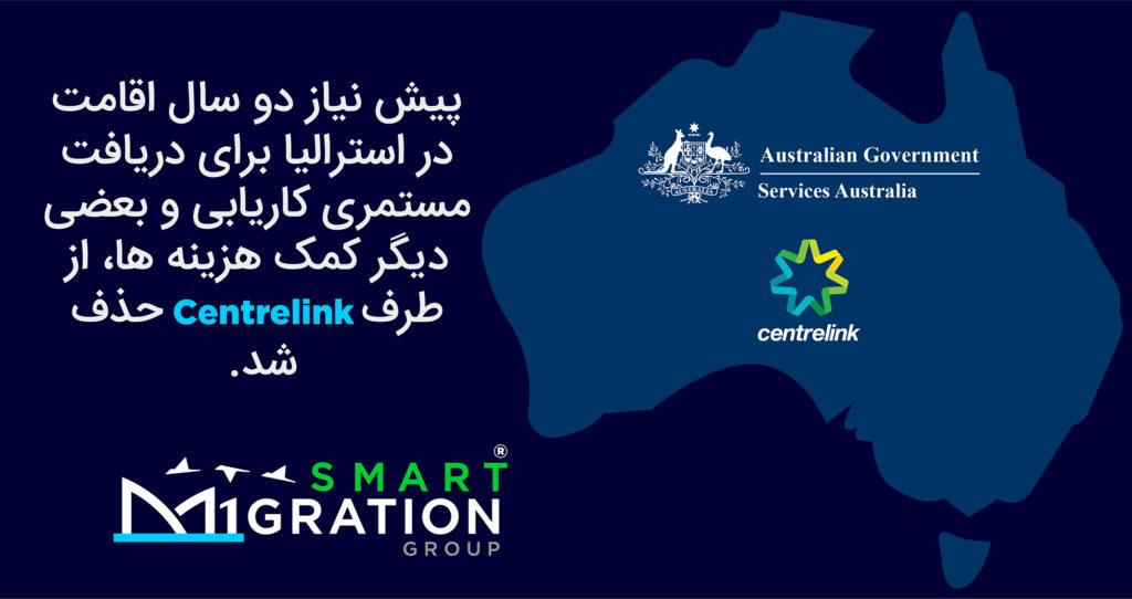 اقامت دائم استرالیا - مهاجرت به استرالیا - سنترلینک - Centrelink - Australia
